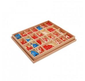 Petit alphabet mobile script