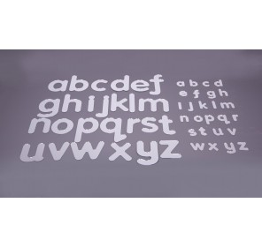 Petit alphabet miroirs