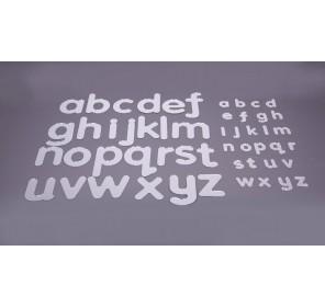 Grand alphabet miroirs