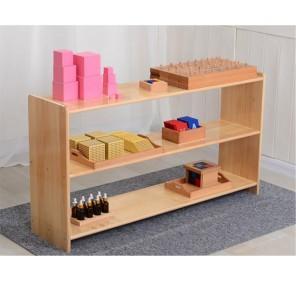 Meuble Montessori - 3 étagères (120*30*65)
