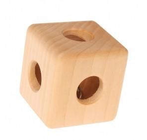 Hochet cube à grelot