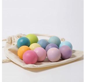 Petites boules pastel