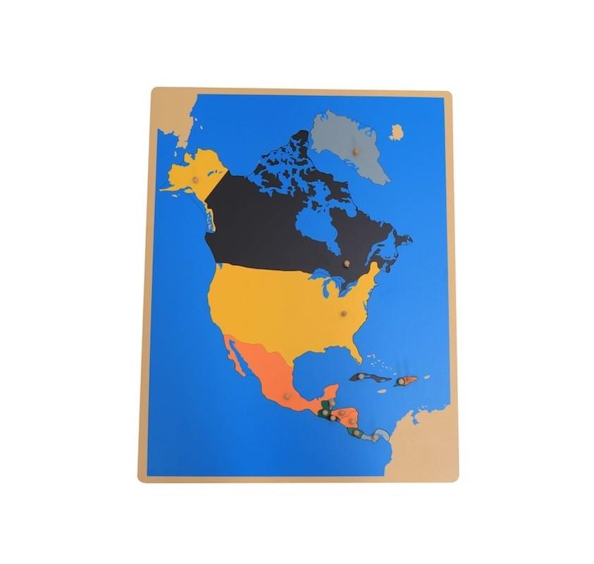 Carte Amerique Capitale.Puzzle Carte Amerique Du Nord