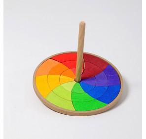 Toupie cercle coloré de Goethe