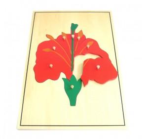 Grand puzzle fleur