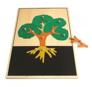 Grand puzzle arbre