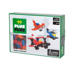 Plus-Plus Box Mini Basic 170 pcs - Aviation