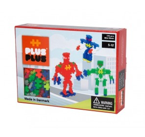 Plus-Plus Box Mini Néon 170 pcs - Robots
