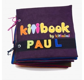 Kitibook 10 pages - pour fille