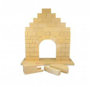 Arche romane (en hêtre)