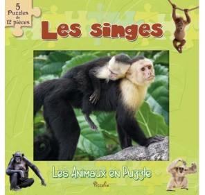 """Les Animaux En Puzzle """"les Singes"""""""