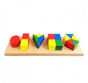 Blocs géométriques fractionnés