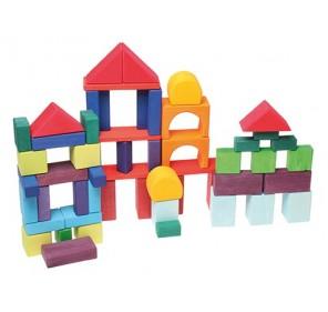 60 Géo-blocs colorés
