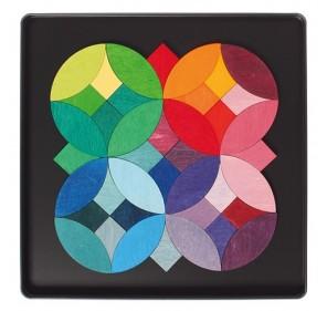 Puzzle magnétique cercles