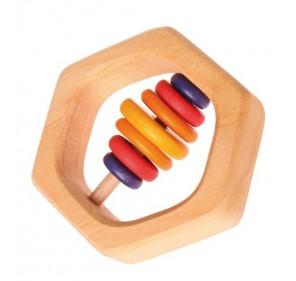 Hochet hexagonal